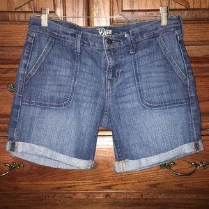 Blue denim old navy shorts